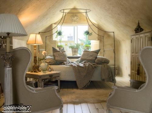 Cuarenta fabulosos modelos de dormitorios con camas que utilizan dosel (46)