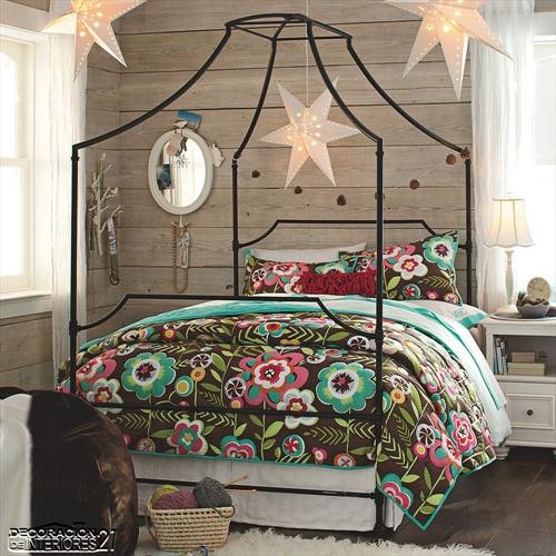 Cuarenta fabulosos modelos de dormitorios con camas que utilizan dosel (49)