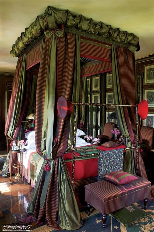 Cuarenta fabulosos modelos de dormitorios con camas que utilizan dosel (53)