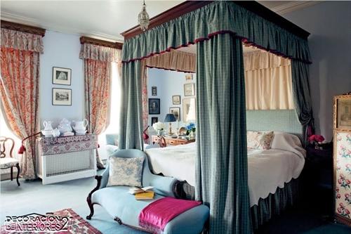 Cuarenta fabulosos modelos de dormitorios con camas que utilizan dosel (54)