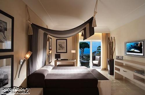 Cuarenta fabulosos modelos de dormitorios con camas que utilizan dosel (58)