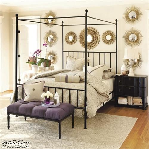 Cuarenta fabulosos modelos de dormitorios con camas que utilizan dosel (62)