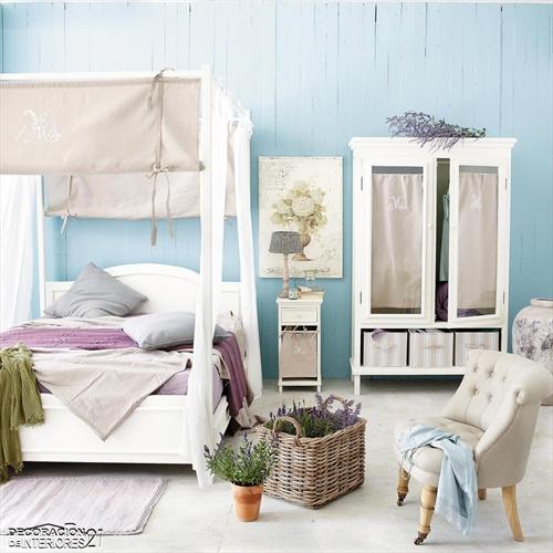 Cuarenta fabulosos modelos de dormitorios con camas que utilizan dosel (64)