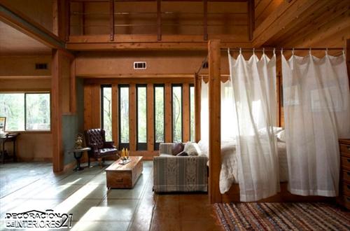 Cuarenta fabulosos modelos de dormitorios con camas que utilizan dosel (66)