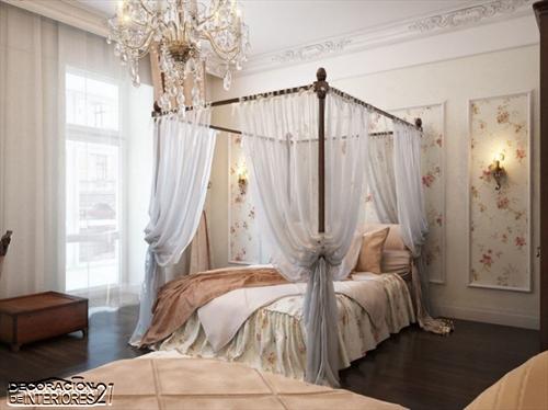 Cuarenta fabulosos modelos de dormitorios con camas que utilizan dosel (73)
