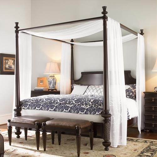 Cuarenta fabulosos modelos de dormitorios con camas que utilizan dosel (74)