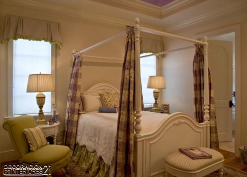 Cuarenta fabulosos modelos de dormitorios con camas que utilizan dosel (76)