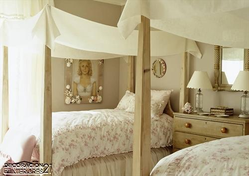 Cuarenta fabulosos modelos de dormitorios con camas que utilizan dosel (77)