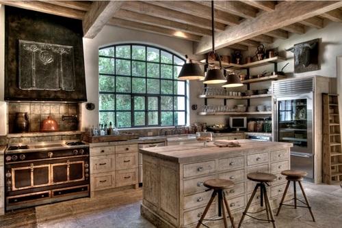 Doce diseños de cocina que encarnan la vida en el campo y sus tradiciones (11)