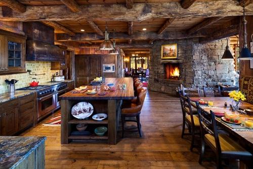 Doce diseños de cocina que encarnan la vida en el campo y sus tradiciones (8)