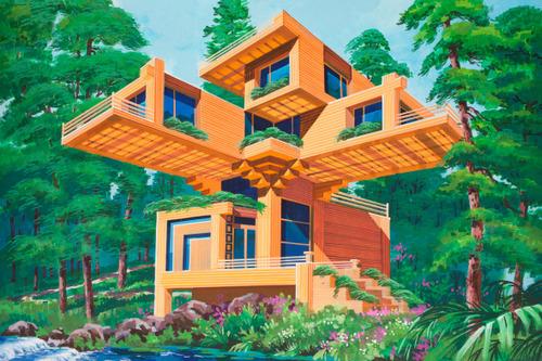 Pinturas coreanas de casas para decorar tu sala favorita