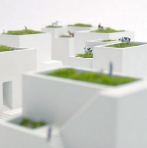 Macetas miniatura de la marca Ienami Bonkei