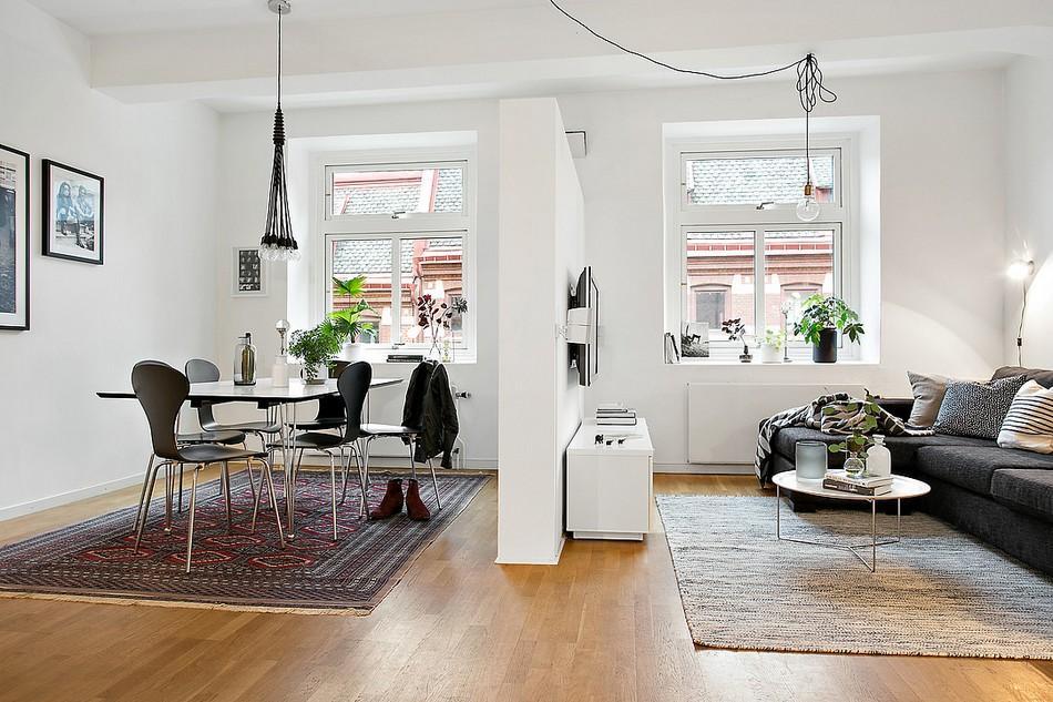 Recorrido fotográfico por un apartamento de ciudad con excelente terminación