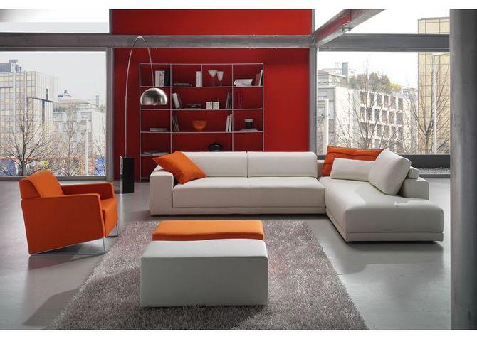 Combinacion gris y color naranja
