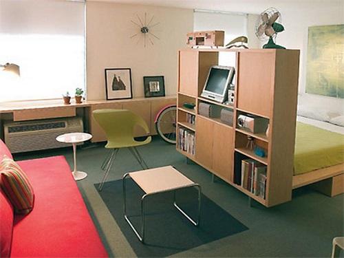Como dividir espacios en apartamentos de poco tamaño (2)