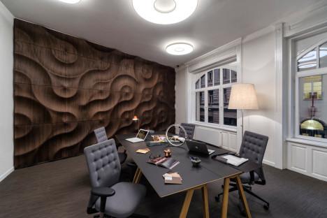 En un despacho el fondo se ve perfecto y armonizante
