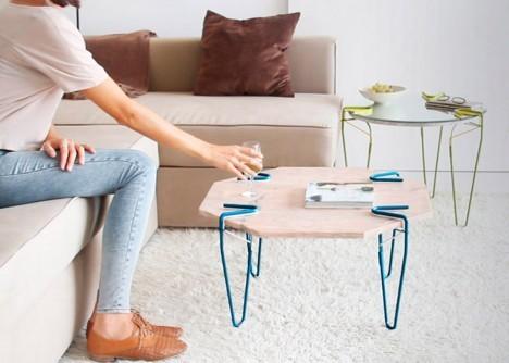 Una excelente mesa que conbina con los colores del hogar