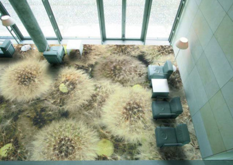 Increíble diseño real sobre el piso