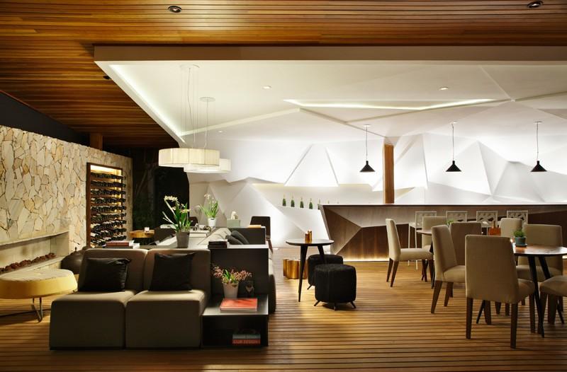 Un lugar más sofisticado y cómodo del bar