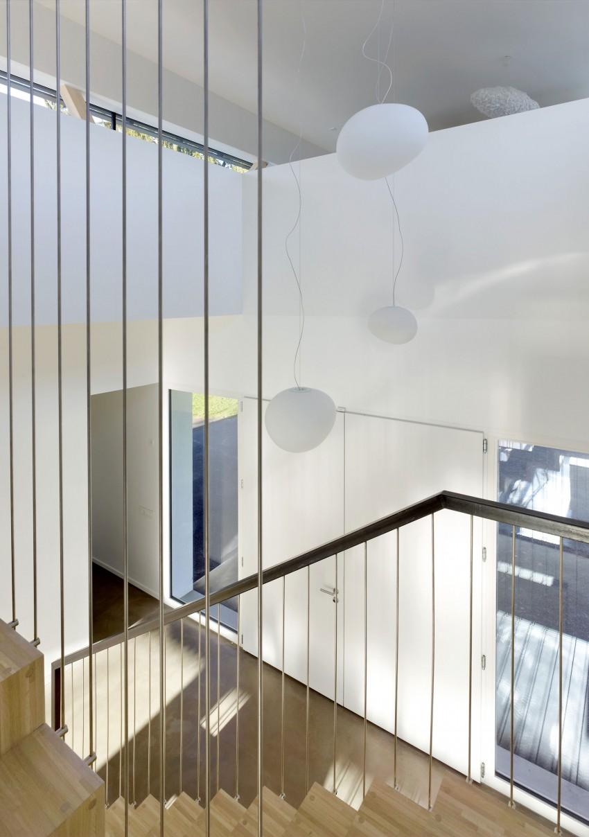 Las escaleras suspendidas