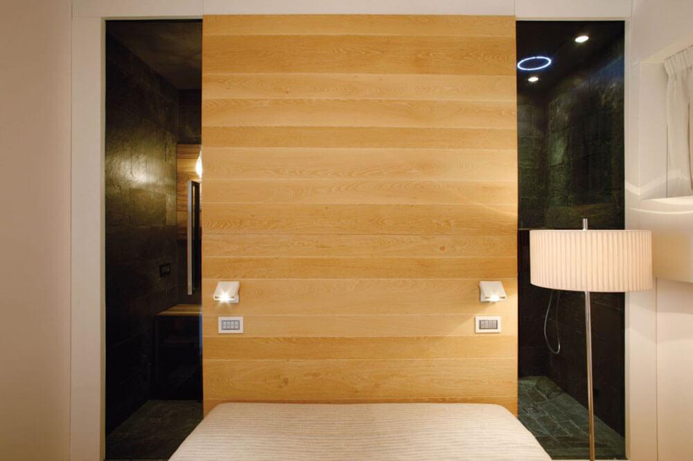 las paredes de madera