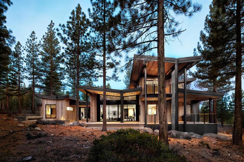 Una hermosa casa