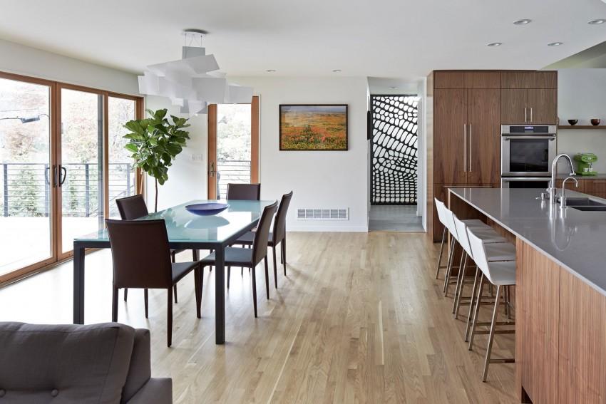 moderna  sala y comedor
