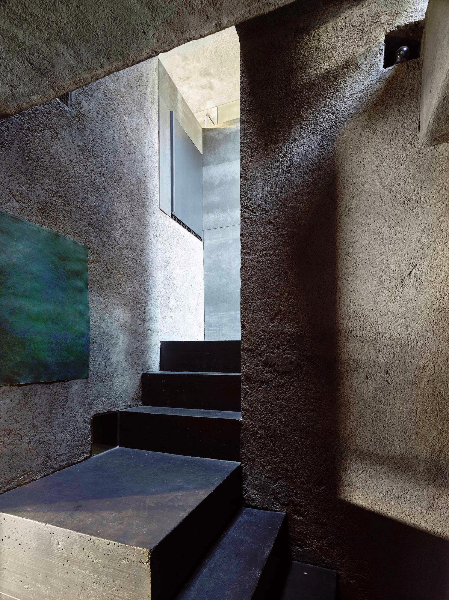 escaleras rudimentarias